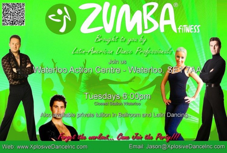 Zumba at the Waterloo action Centre