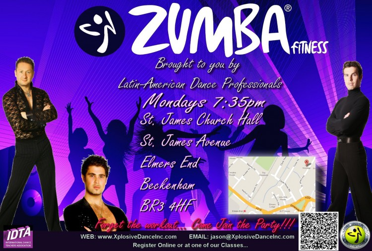 Zumba St James Church (Mondays)